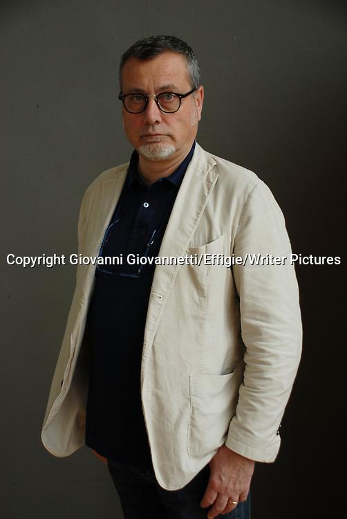 Massimo Carlotto, Salone Internazionale del Libro di Torino <br /> 18 May 2013<br /> <br /> Photograph by Giovanni Giovannetti/Effigie/Writer Pictures <br /> <br /> NO ITALY, NO AGENCY SALES