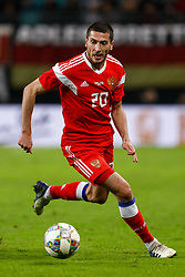 November 15, 2018 - Leipzig, Germany - Aleksey Ionov of Russia in action during the international friendly match between Germany and Russia on November 15, 2018 at Red Bull Arena in Leipzig, Germany. (Credit Image: © Mike Kireev/NurPhoto via ZUMA Press)