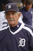 Apr 11, 2006; Detroit, MI, USA:  Detroit Tiger manager Jim Leyland, Comerica Park vs. Chicago White Sox.