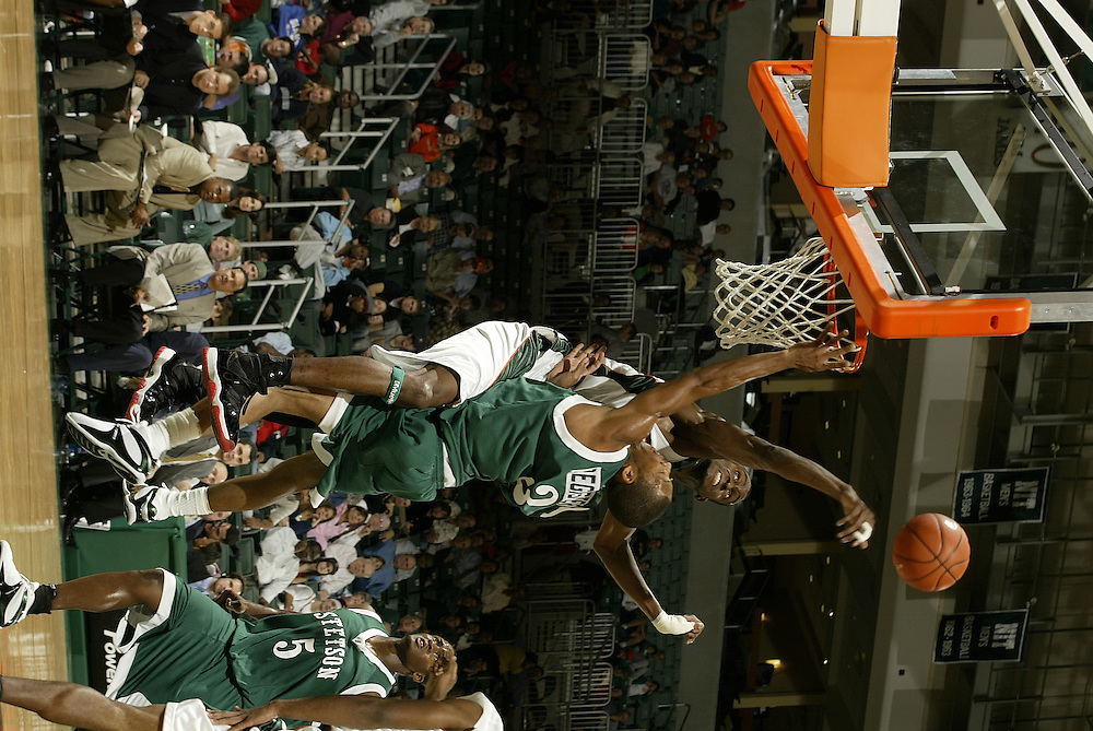 2004 Miami Hurricanes Basketball vs Stetson