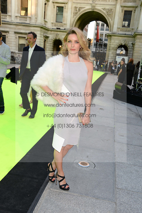 ANNABELLE WALLIS at the preview party for The Royal Academy Of Arts Summer Exhibition 2013 at Royal Academy of Arts, London on 5th June 2013.