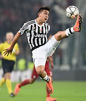Paulo Dybala Juventus <br /> Torino 23-02-2016 Juventus Stadium, Football Champions League 2015/2016 Round of 16 Juventus - Bayern Munich / Juventus - Bayern Monaco .  Foto Image Sport / Insidefoto