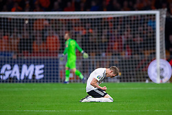 24-03-2019 NED: UEFA Euro 2020 qualification Netherlands - Germany, Amsterdam<br /> Netherlands lost the match 3-2 in the last minute / Nico Schultz #14 of Germany scores 3-2 in the last minute. Matthias Ginter #4 of Germany