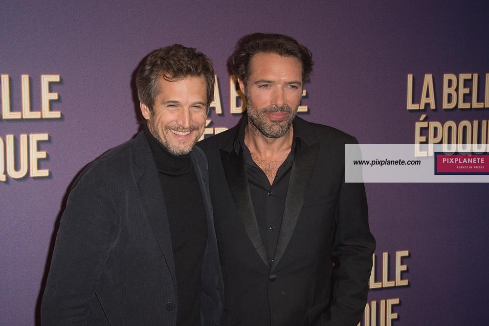 Guillaume Canet et Nicolas Bedos Avant première du film La Belle Epoque Jeudi 17 Octobre 2019 Gaumont Opéra Paris