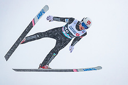 11.03.2018, Holmenkollen, Oslo, NOR, FIS Weltcup Ski Sprung, Raw Air, Oslo, im Bild Johann Andre Forfang (NOR) // Johann Andre Forfang of Norway during the 1st Stage of the Raw Air Series of FIS Ski Jumping World Cup at the Holmenkollen in Oslo, Norway on 2018/03/11. EXPA Pictures © 2018, PhotoCredit: EXPA/ JFK