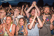 The National play the Obelisk stage and the crowd go wild - The 2016 Latitude Festival, Henham Park, Suffolk.