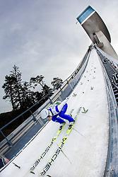 03.01.2014, Bergisel Schanze, Innsbruck, AUT, FIS Ski Sprung Weltcup, 62. Vierschanzentournee, Training, im Bild Daiki Ito (JPN) // Daiki Ito (JPN)  during practice Jump of 62nd Four Hills Tournament of FIS Ski Jumping World Cup at the Bergisel Schanze, Innsbruck, <br /> Austria on 2014/01/03. EXPA Pictures © 2014, PhotoCredit: EXPA/ JFK