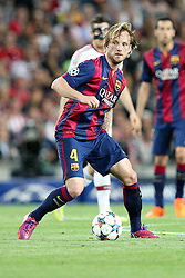 06.05.2015, Camp Nou, Barcelona, ESP, UEFA CL, FC Barcelona vs FC Bayern Muenchen, Halbfinale, Hinspiel, im Bild Ivan Rakitic #4 (FC Barcelona) // during the UEFA Champions League semi finals 1st Leg match between FC Barcelona and FC Bayern Munich at the Camp Nou in Barcelona, Spain on 2015/05/06. EXPA Pictures © 2015, PhotoCredit: EXPA/ Eibner-Pressefoto/ Kolbert<br /> <br /> *****ATTENTION - OUT of GER*****
