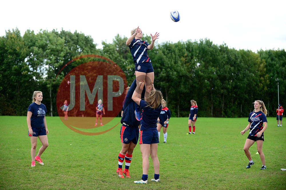 of Bristol Rugby Ladies - Mandatory by-line: Dougie Allward/JMP - 09/09/2017 - FOOTBALL - Cleve RFC - Bristol, England - Bristol Rugby Ladies