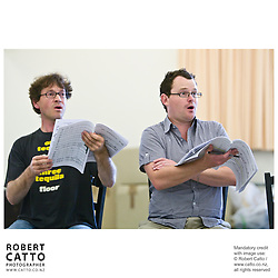 Berthold Brecht & Kurt Weill's opera The Lindbergh Flight / The Flight Over The Ocean, directed by Francois Girard, is seen in rehearsal at the St James Theatre in Wellington, New Zealand.