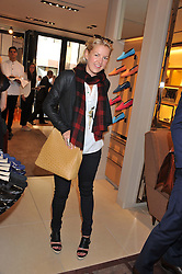 HANNELI RUPERT at a champagne breakfast hosted by Carolina Gonzalez-Bunster and TOD's in aid of the Walkabout Foundation held at TOD's, 2-5 Old Bond Street, London on 9th May 2013.