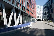modernes Buerogebaeude, Jahreszeiten Verlag, Possmoorweg, Winterhude, Hamburg, Deutschland.|.modern office building, Winterhude, Hamburg, Germany.