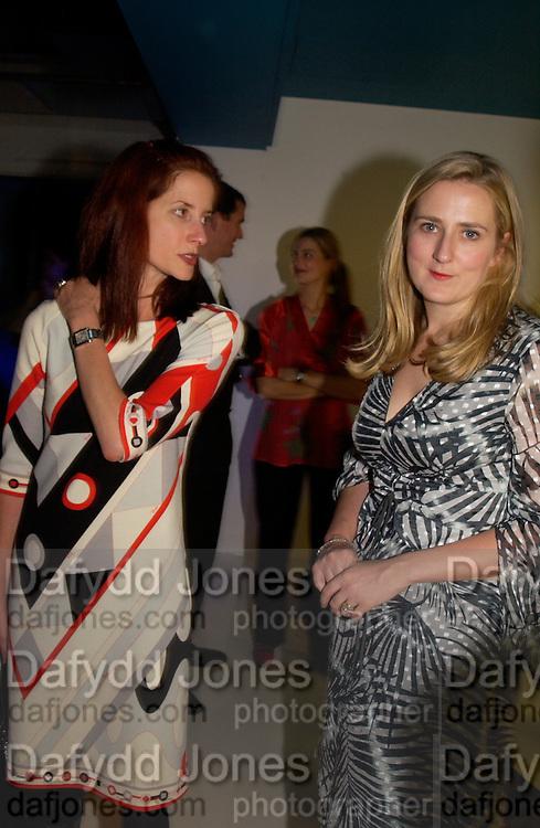 Vanessa Friedman and Susie Boyt, Superbrands, Selfridges. 13 November 2003. © Copyright Photograph by Dafydd Jones 66 Stockwell Park Rd. London SW9 0DA Tel 020 7733 0108 www.dafjones.com