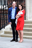 Catherine Duchess of Cambridge gives birth 23rd april 2018