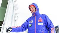 BILDET INNGÅR IKKE I FASTAVTALER. ALL NEDLASTING BLIR FAKTURERT.<br /> <br /> Hopp<br /> Foto: imago/Digitalsport<br /> NORWAY ONLY<br /> <br /> Bad Mitterndorf 16.01.2016, Kulm, Bad Mitterndorf, AUT, FIS Skiflug WM, Kulm, Vorbereitung, im Bild Kenneth Gangnes (NOR) // Kenneth Gangnes of Norway prepares before the trial Jump of FIS Ski Flying World Championships at the Kulm in Bad Mitterndorf, Austria on 2016/01/16.