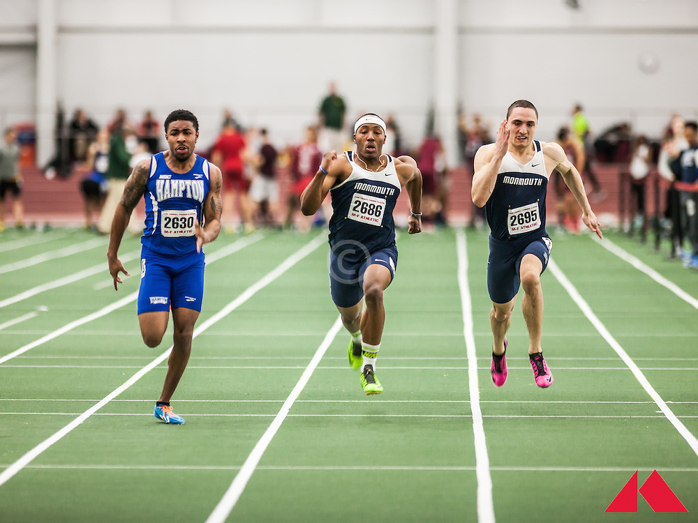 Boston University Scarlet and White Indoor Track & Field: Monmouth, Hampton