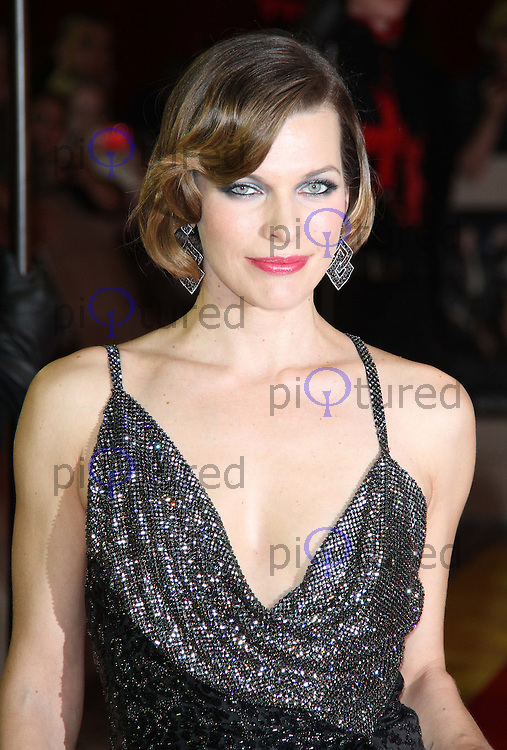 Milla Jovovich The Three Musketeers World Premiere, Westfield, London, UK. 04 October 2011. Contact: Rich@Piqtured.com +44(0)7941 079620 (Picture by Richard Goldschmidt)