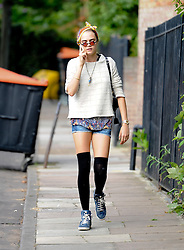Model Cara Delevingne house hunting in London, UK. 07/08/2014<br />BYLINE MUST READ : GOTCHAIMAGES.COM<br /><br />Copyright by © Gotcha Images Ltd. All rights reserved.<br />Usage of this image is conditional upon the acceptance <br />of Gotcha Images Ltd, terms and conditions available at<br />www.gotchaimages.com
