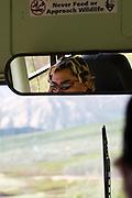 Never feed or approach wildlife - bus driver, Denali National Park, Alaska..
