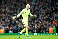 2016.11.01 Manchester<br /> Pilka nozna Liga Mistrzow sezon 2016/2017<br /> Manchester City - FC Barcelona<br /> N/z Willy Caballero<br /> Foto Sebastian Frej / PressFocus<br /> <br /> 2016.11.01 Manchester<br /> Football Champions League season 2016/2017<br /> Manchester City - FC Barcelona<br /> Willy Caballero<br /> Credit: Sebastian Frej / PressFocus
