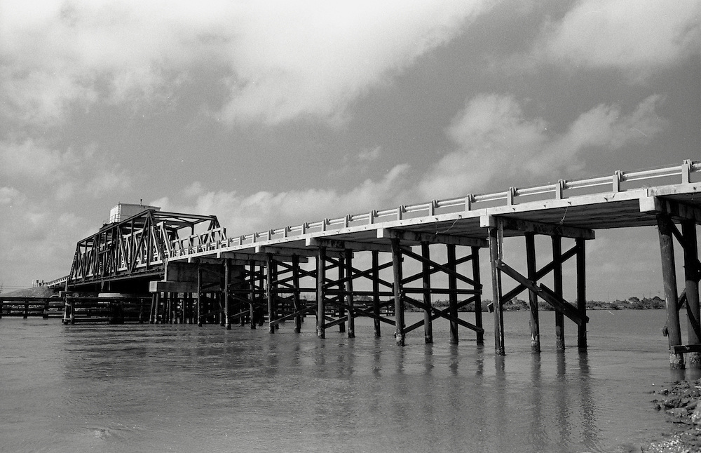 Bridge at Port Fourchon, LA, May 2003