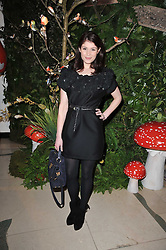 GEMMA ARTERTON at Mulberry's party following their fashion show as part of London Fashion Week Autumn Winter Collection 2011 held at Claridges, Brook Street, London on 20th February 2011.