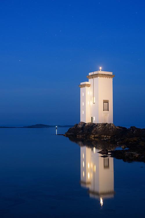 Carraig Fhada lighthouse, Islay, Scotland