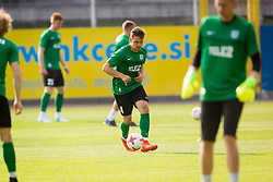 Players of FC Flora Tallinn during training before 1st leg match of 1st Round of Qualifications for European League, on June 28, 2017 in Arena Petrol, Celje, Slovenia. Photo by Ziga Zupan / Sportida