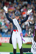Charlotte Dujardin - Valegro winner Grand Prix Special<br /> FEI European Championships Aachen 2015<br /> © DigiShots