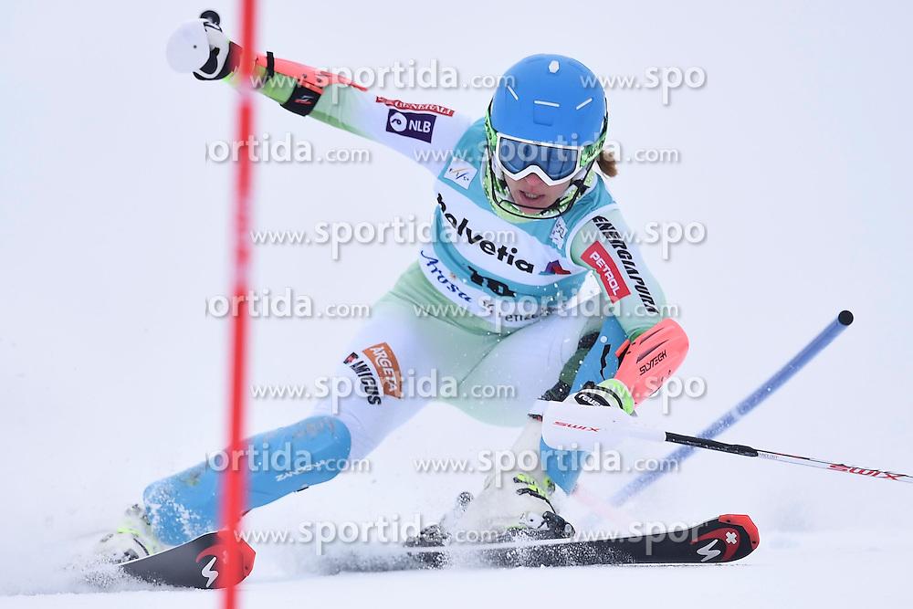 13.03.2016, Pista Silvano Beltrametti, Lenzerheide, SUI, FIS Weltcup Ski Alpin, Lenzerheide, Superkombination, Slalom, Damen, im Bild Vanja Brodnik (SLO)) // during ladie's Supercombi, Slalom Race of Lenzerheide FIS Ski Alpine World Cup at the Pista Silvano Beltrametti in Lenzerheide, Switzerland on 2016/03/13. EXPA Pictures &copy; 2016, PhotoCredit: EXPA/ Freshfocus/ Manuel Lopez<br /> <br /> *****ATTENTION - for AUT, SLO, CRO, SRB, BIH, MAZ only*****