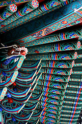 SOUTH KOREA MASAN 28OCT07 - Ornamental detail of a Confucian temple in Masan, south Korea...jre/Photo by Jiri Rezac..© Jiri Rezac 2007..Contact: +44 (0) 7050 110 417.Mobile:  +44 (0) 7801 337 683.Office:  +44 (0) 20 8968 9635..Email:   jiri@jirirezac.com.Web:    www.jirirezac.com..© All images Jiri Rezac 2007 - All rights reserved.
