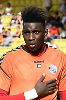 Bingourou Kamara of Strasbourg during the Ligue 1 match between AS Monaco and Strasbourg at Stade Louis II on September 16, 2017 in Monaco. (Photo by Pascal Della Zuana/Icon Sport )