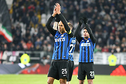 December 9, 2017 - Turin, Piedmont, Italy - Miranda (FC Internazionale) after the Serie A football match between Juventus FC and FC Internazionale at Allianz Stadium on 09 December, 2017 in Turin, Italy..The final score is 0-0. (Credit Image: © Massimiliano Ferraro/NurPhoto via ZUMA Press)