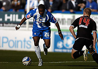 Photo: Olly Greenwood.<br />Colchester United v West Bromwich Albion. Coca Cola Championship. 20/10/2007. Colchester's Kevin Lisbie celebrates scoring Colchester's Kevin Lisbie scores
