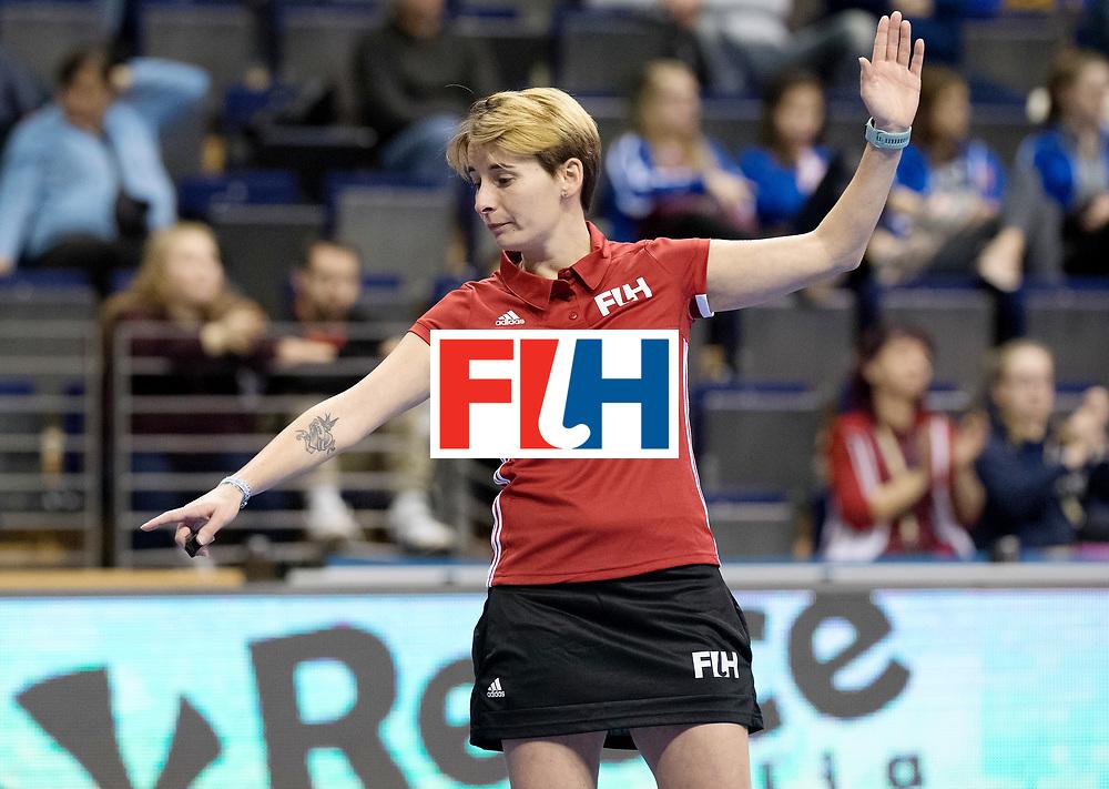 BERLIN - Indoor Hockey World Cup<br /> Women: Ukraine - Germany<br /> foto: ALVES Karine.<br /> WORLDSPORTPICS COPYRIGHT FRANK UIJLENBROEK