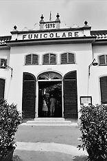 Italy-Tuscano-Montecatini Alto-Funicolare-Family