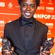 NLD/Amsterdam/20150202 - Edison Awards 2015, Typhoon ontvangt twee Awards