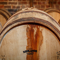Barrels in the bond store at Redlands Estate Distillery in Plenty, Tasmania, August 25, 2015. Gary He/DRAMBOX MEDIA LIBRARY