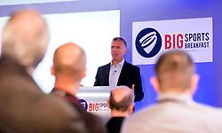 Alec Stewart gives a talk at the Big Breakfast- Mandatory by-line: Robbie Stephenson/JMP - 27/05/2016 - PR - Ashton Gate - Bristol, England - Bristol Sport Big Breakfast Alec Stewart