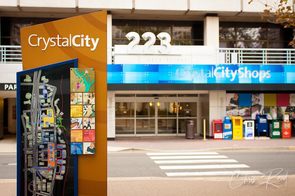 Crystal City Wayfinding