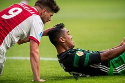 21-01-2018 NED: AFC Ajax - Feyenoord, Amsterdam<br /> Ajax was met 2-0 te sterk voor Feyenoord / Klaas Jan Huntelaar #9 of AFC Ajax, Renato Tapia #20 of Feyenoord