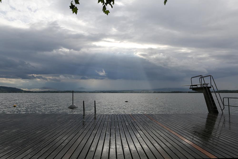 Zug lake, Canton of Zug, Switzerland
