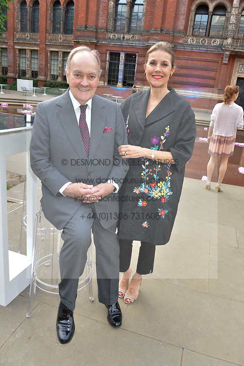 LORD & LADY PALUMBO at the V&A Summer Party in association with Harrod's held at The V&A Museum, London on 22nd June 2016.