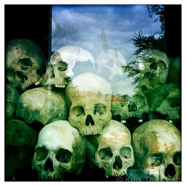Killing Field in Phnom Penh in Cambodia in May 2012..Photo by Kuni Takahashi