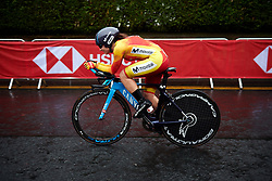 Lourdes Oyarbide (ESP) at UCI Road World Championships 2019 Elite Women's TT a 30.3 km individual time trial from Ripon to Harrogate, United Kingdom on September 24, 2019. Photo by Sean Robinson/velofocus.com