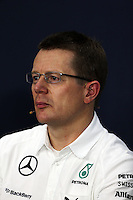 Andy Cowell (GBR) Mercedes-Benz High Performance Powertrains Managing Director om the FIA Press Conference.<br /> Japanese Grand Prix, Friday 3rd October 2014. Suzuka, Japan.