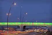 Viaduct bij de High Tech Campus in Eindhoven.