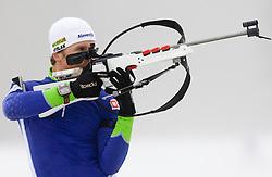 Peter Dokl  at training session of Slovenian biathlon team before new season 2009/2010,  on November 16, 2009, in Pokljuka, Slovenia.   (Photo by Vid Ponikvar / Sportida)