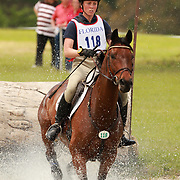 Rebecca Howard and Riddle Master at the Florida International Three Day Event held April 17-20, 2008 in Ocala, Florida.
