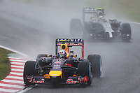 Daniel Ricciardo (AUS) Red Bull Racing RB10.<br /> Japanese Grand Prix, Sunday 5th October 2014. Suzuka, Japan.